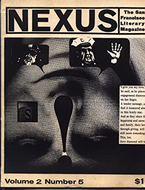 Nexus - The San Francisco Literary Magazine - Volume 2 Two II Number # 5 Five V - September Octob...