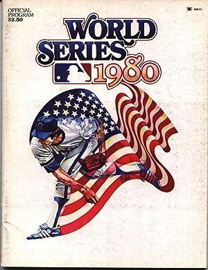 World Series 1980 - Official Program -: Reichler, Joe (editor)
