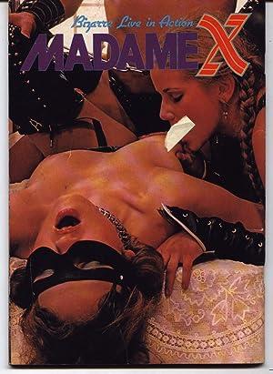 Madame X - Bizarre Live In Action: Erotica (Sado Masochism) (S/M)(Bondage) (Puritan Magazine)