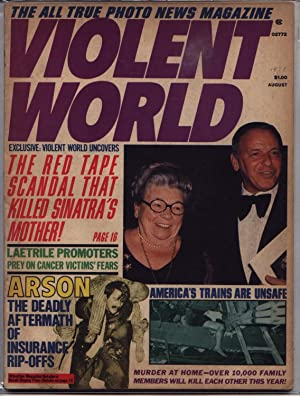 Violent World Magazine - Volume 1 One I Number # 4 Four IV