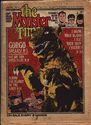 Monster Times - Volume 1 One Number: Periodical - Horror