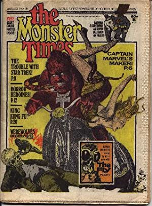 Monster Times - Volume 1 One Number Twenty-Five 25 - August 1973