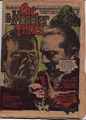 Monster Times - Volume 1 One Number Forty-One 41 - May 1975