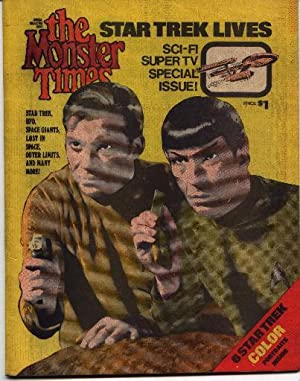 Monster Times - Special Collectors Issue Number One 1 - Star Trek Lives!