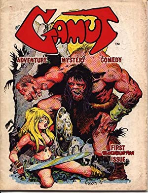 Gamut - Adventure Mystery Comedy - Number 1 One I - 1975: Fanzine - Comic Book - Comics