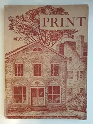 Print - A Quarterly Journal Of The Graphic Arts - Summer 1942 - Volume Vol. 3 Three III Number No...