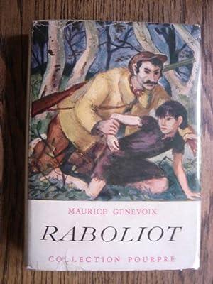 Raboliot: Genevoix, Maurice