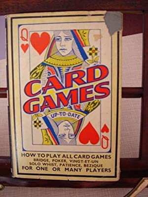 Card Games Up-to-Date: Roberts, Charles