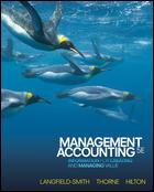 Management Accounting: Information for Managing and Creating: Langfield-Smith, Thorne, Hilton