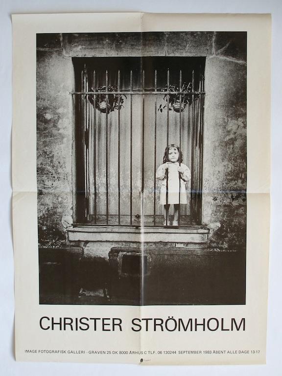 Image Fotografisk Galleri exhibition poster (1983) STRÖMHOLM, Christer (photograph) Very Good
