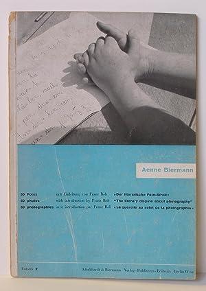 Fototek 2: Aenne Biermann - 60 Fotos: BIERMANN, Aenne (introduction