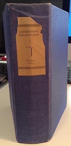 Gastronomic Bibliography: Katherine Golden Bitting