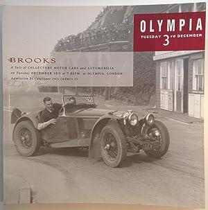 Collectors Motor Cars and Automobilia 3 December: Brooks