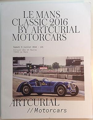 Le Mans Classic By Artcurial Motorcars: Artcurial