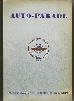 International Automobile Parade Volume 2: Anonymous
