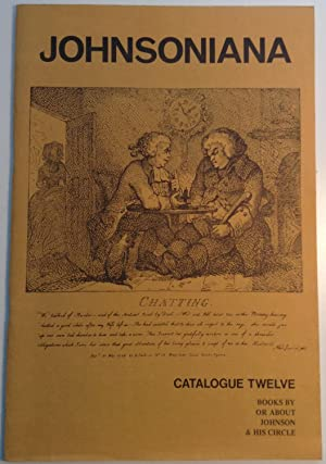 Johnsoniana: Catalogue 12: Books By or About: boswell, James &