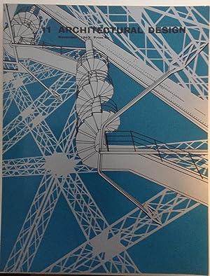 Architectural Design No 11 November 1963 -: Pidgeon, Monica (ed.)