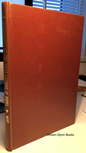 A Bibliography of the First Editions of: Muir, Percy H