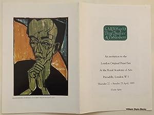 London Original Print Fair Invitation 1999: Garton & Co