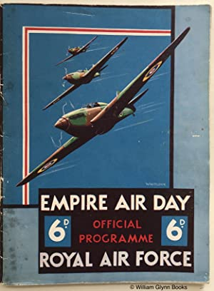 Empire Air Day Royal Air Force Official Programme 20 May 1939