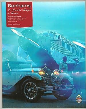 Les Grandes Marques à Monaco: Collectors' Cars: Bonhams & Brooks