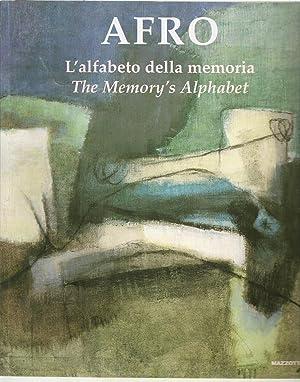 Afro: L'alfabeto Della memoria/ The Memory's Alphabet: Renato Miracco (a