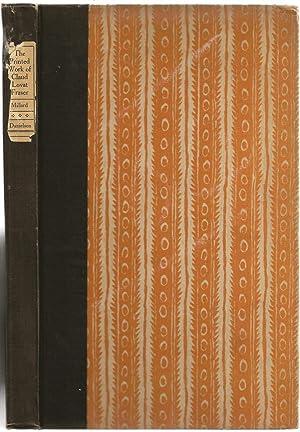 The Printed Work of Claud Lovat Fraser: Millard, Christopher