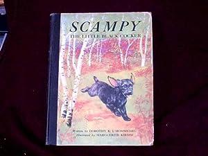 Scampy. The Little Black Cocker;: L'Hommedieu, Dorothy K.