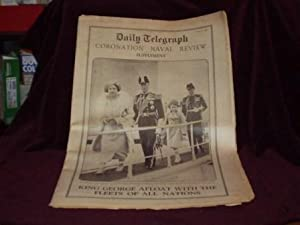 Daily Telegraph Coronation Naval Review Supplement: King George Afloat with the Fleets of All ...