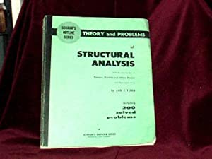 Theory and Problems of Structural Analysis with: Tuma, Jan J.