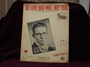 The Love Bug Will Bite You (: Tomlin, Pinky. Words
