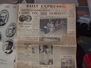 Daily Express Souvenir Editions June 1st -- June 6th 1953 ( Queen Elizabeth's Coronation);: ...