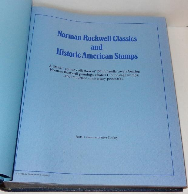 Norman Rockwell Classics and Historic American Stamps