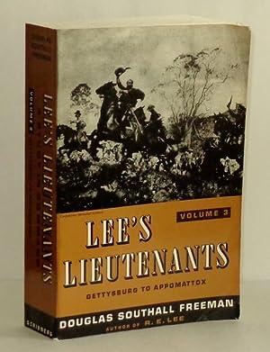 Lee's Lieutenants, A Study in Command, Volume: Freeman, Douglas Southall