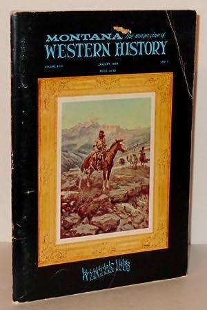 Montana: The Magazine of Western History, Volume