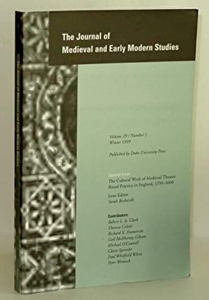 Journal of Medieval and Early Modern Studies,: Beckwith, Sarah