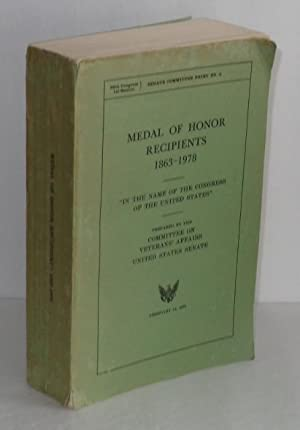 Medal of Honor Recipients 1863-1978, Senate Committee Print No. 3, 96th Congress, 1st session)
