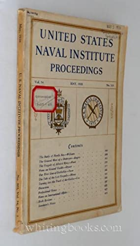 United States Naval Institute Proceedings, Vol. 54, No. 303, May 1928
