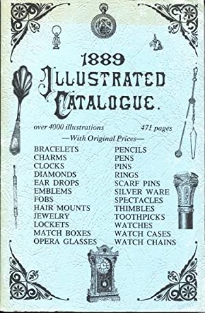13th Annual Illustrated Catalogue, 1889, of the: DeTice, Louie