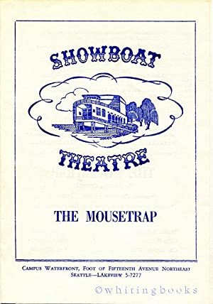 Showboat Theatre Program, 1959, Seattle, for Agatha Christie's,