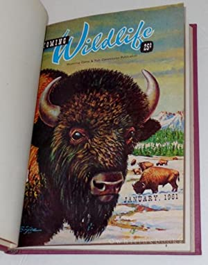 Wyoming Wildlife: January to March 1961, Hardbound in One Volume