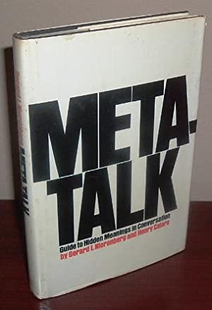 Meta-Talk; Guide to Hidden Meanings in Conversations