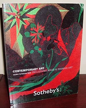 Sotheby's Auction Catalog: Contemporary Art Including Arab