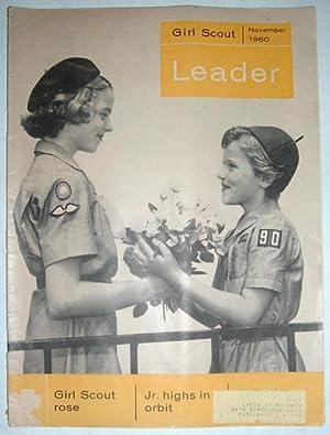 Girl Scout Leader Magazine, November 1960, Vol. 37, No. 8