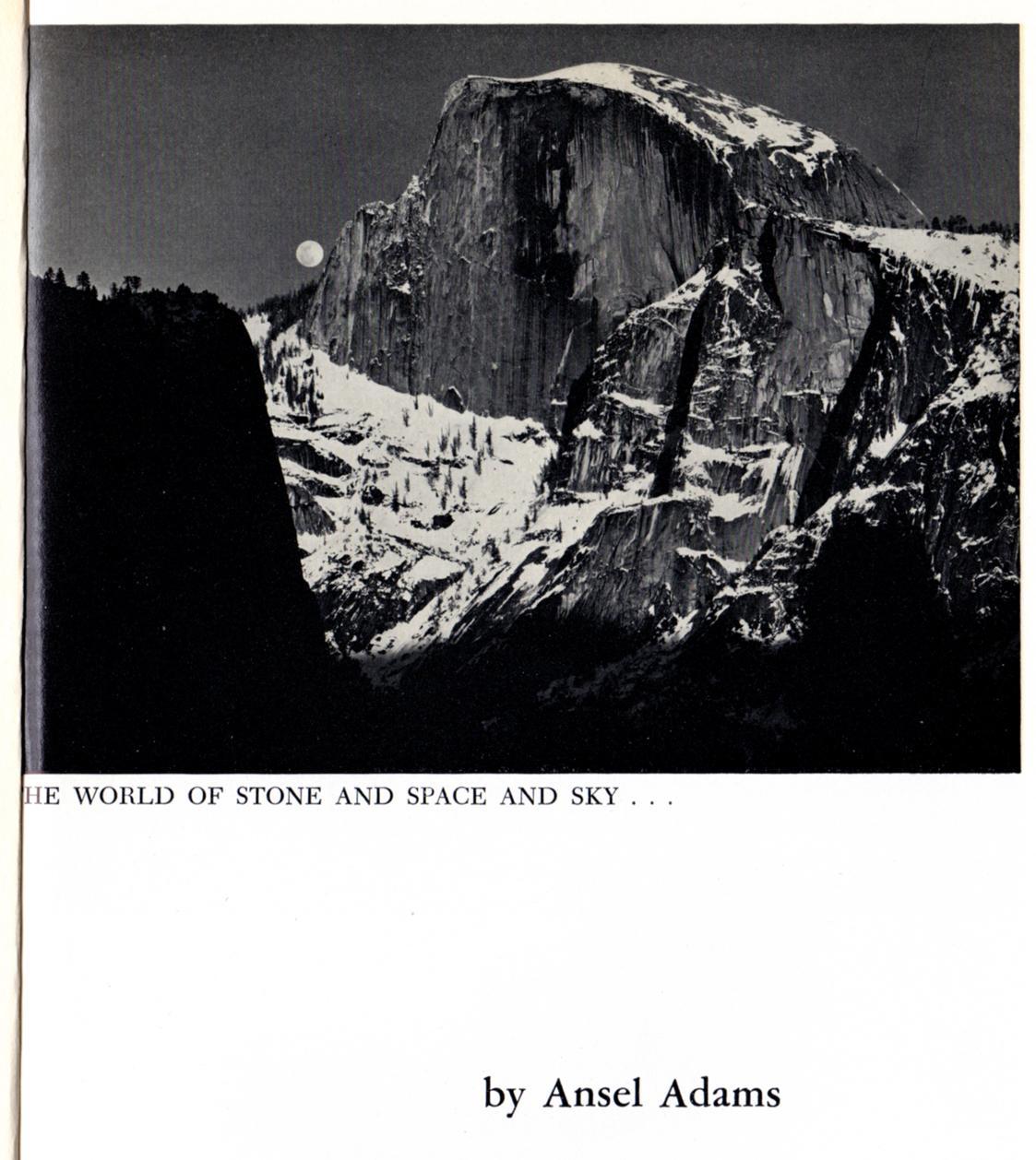 the sierra club a handbook ansel adams photography