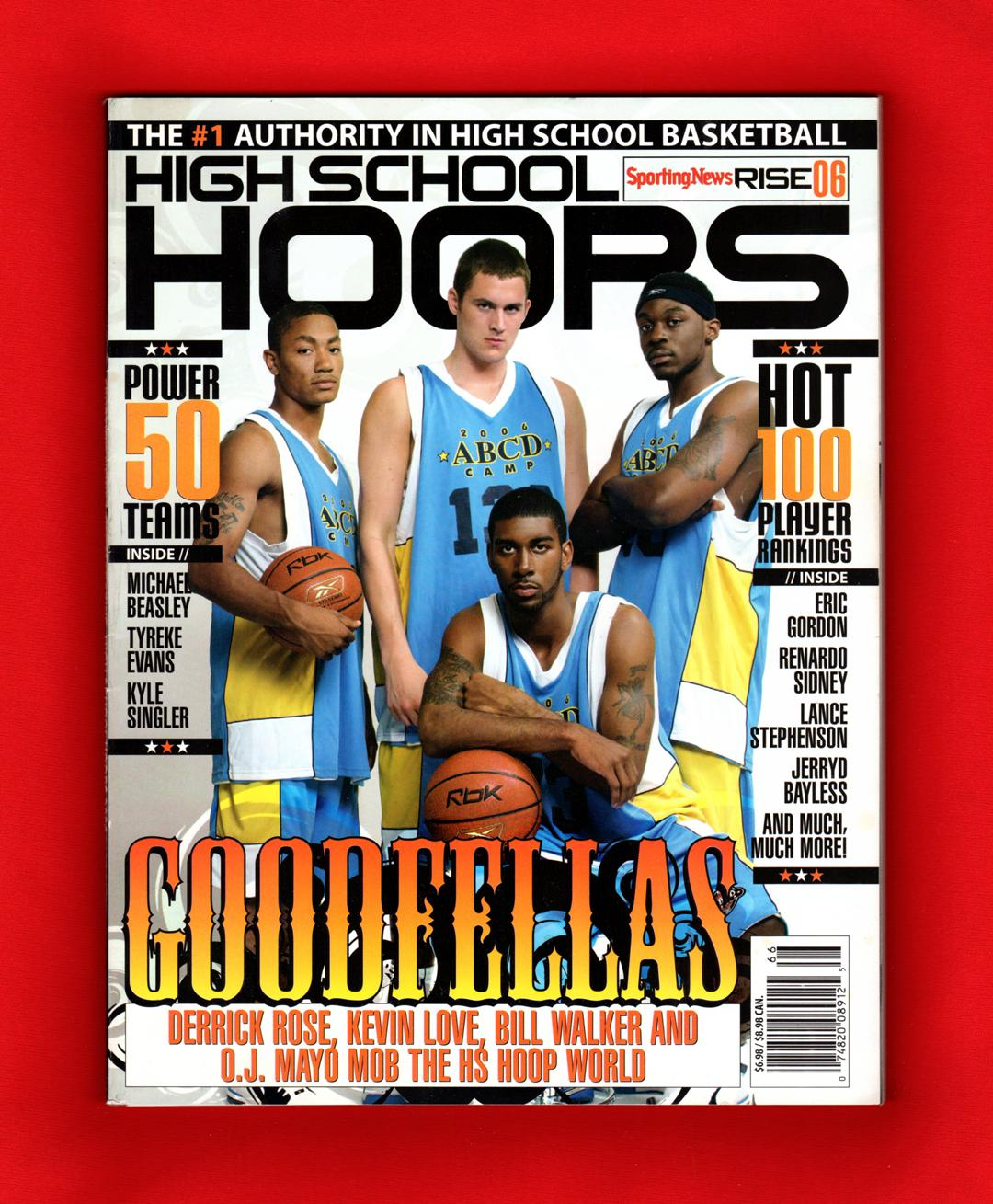 247cc44310d8 High School Hoops 2006 (Sporting News Rise 06). High School Basketball  Recruiting  ...