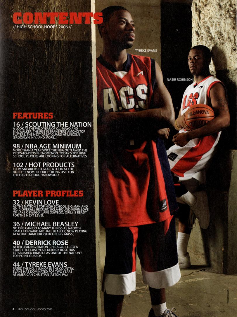49b3aa40490a High School Basketball Recruiting  High School Hoops 2006 (Sporting News  Rise 06). High School Basketball Recruiting  ...