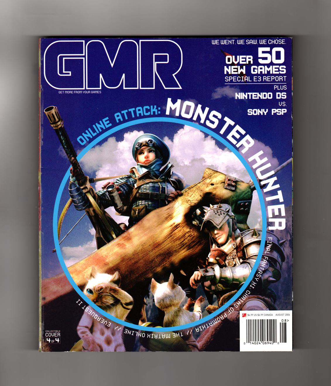 GMR Magazine - August, 2004  The Online