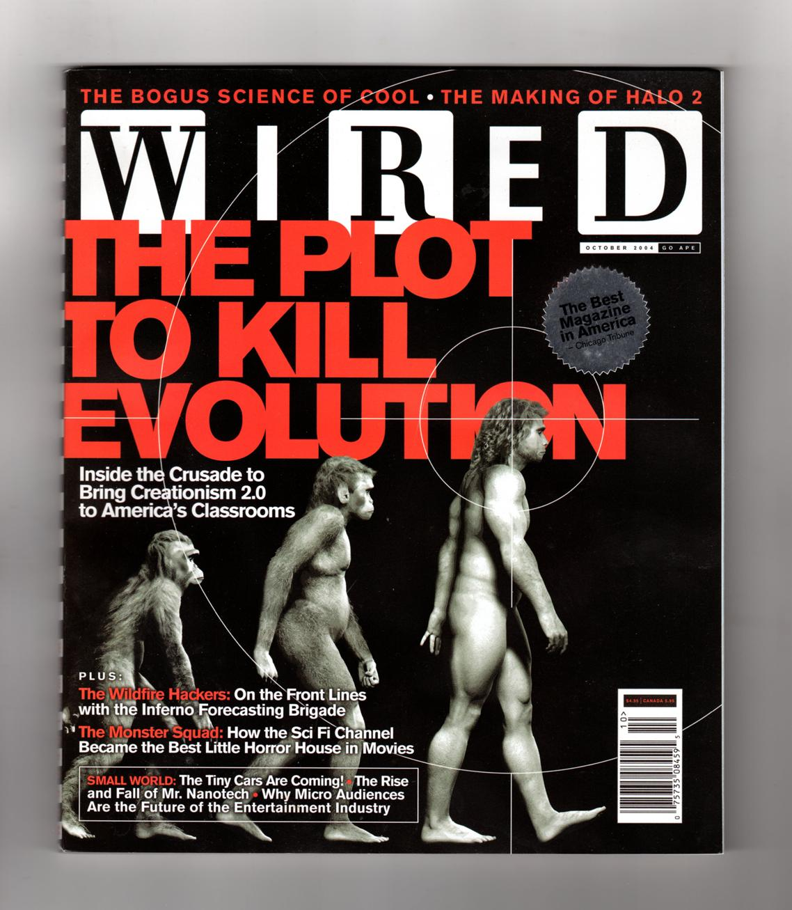 Wired Magazine - October, 2004. Chris Anderson\'s \