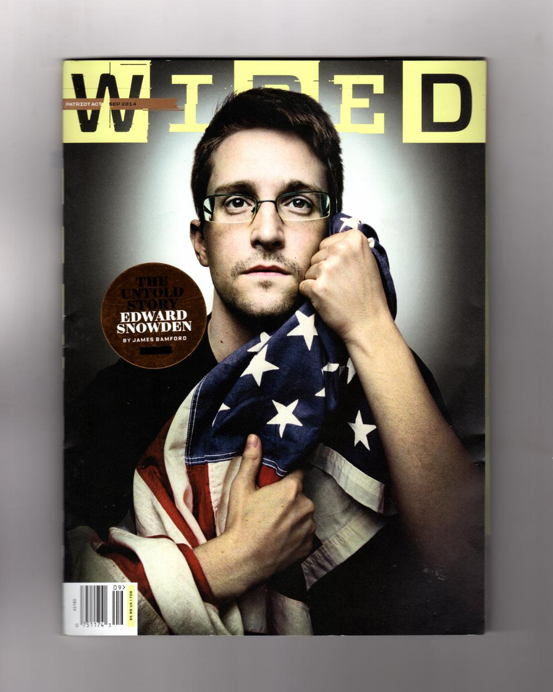 Wired Cover   Wired Magazine September 2014 Edward Snowden The Untold Story